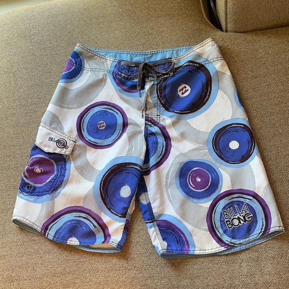 Billabong board shorts men's sz 33